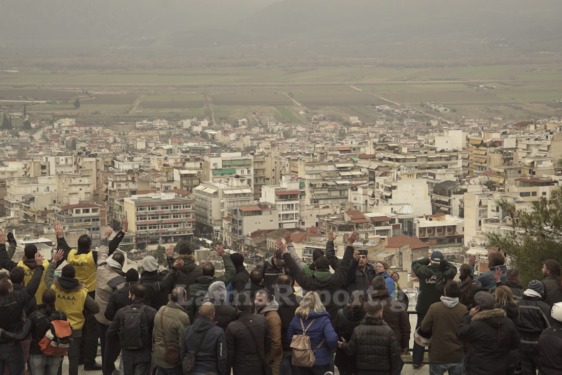 Λαμία: Πλημμύρισε η πόλη από βέσπες... [photos] - Φωτογραφία 9