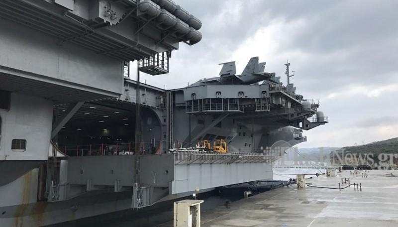 Οι Έλληνες του USS George Bush (Φωτό - Βίντεο) - Φωτογραφία 2