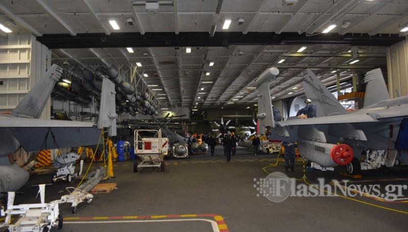 Οι Έλληνες του USS George Bush (Φωτό - Βίντεο) - Φωτογραφία 3