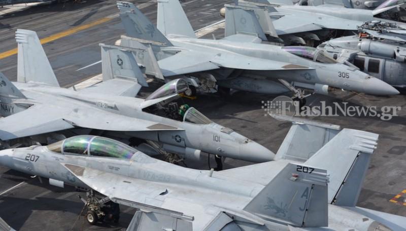 Οι Έλληνες του USS George Bush (Φωτό - Βίντεο) - Φωτογραφία 6