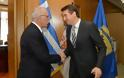 Συνάντηση ΑΝΥΕΘΑ Δημήτρη Βίτσα με τον Πρέσβη της Δημοκρατίας της Σερβίας