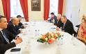 Συνάντηση ΥΕΘΑ Πάνου Καμμένου με τον ΥΠΑΜ του Λιβάνου στη διάρκεια της 53ης Διάσκεψης Ασφαλείας στο Μόναχο