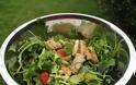 Η συνταγή της Ημέρας: Πράσινη σαλάτα με ψητό κοτόπουλο