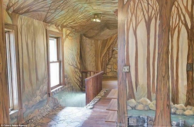Για 35 χρόνια έφτιαχνε το σπίτι των ονείρων της... Το εσωτερικό του δεν μοιάζει με κανένα από όσα σπίτια έχετε δει μέχρι σήμερα - Φωτογραφία 7