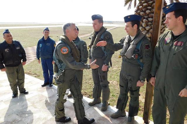 Επίσκεψη Αρχηγού ΓΕΑ στην 130ΣΜ - Φωτογραφία 1