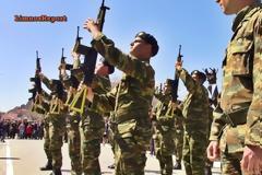ΛΗΜΝΟΣ: Εντυπωσιακή Στρατιωτική Παρέλαση με οπλοασκήσεις που άφησαν άφωνο τον κόσμο (βίντεο-φωτο)