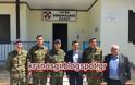 Στο Τάγμα Εθνοφυλακής Εχίνου ο Υπουργός Τηλεπικοινωνιών και Ενημέρωσης Νίκος Παππάς