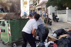 Η Λαμία καθαρίζεται - Έπιασαν δουλειά συμβασιούχοι και μόνιμοι [photos]
