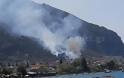 ΣΥΜΒΑΙΝΕΙ ΤΩΡΑ: Καίγονται τα Καμένα Βούρλα - Κινδυνεύουν σπίτια [photos] - Φωτογραφία 3