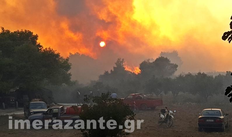 ΖΑΚΥΝΘΟΣ: 5 φωτιές σε 1μιση ώρα! Όλοι μιλούν για εμπρησμό!! - Φωτογραφία 2