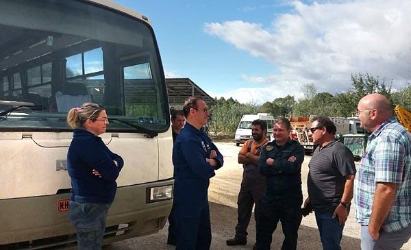 Παραδόθηκε λεωφορείο από τον Δήμο Καστοριάς στην Πολεμική Αεροπορία - Φωτογραφία 2