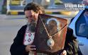 Υποδοχή Εικόνας της Παναγίας της Σινασίτισσας στη Νέα Κίο (φωτογραφίες)