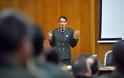 Η εξαιρετική ομιλία της Αλχίας (ΜΧ) που «καθήλωσε» το ακροατήριο σε διάλεξη στο ΓΕΣ (ΦΩΤΟ)