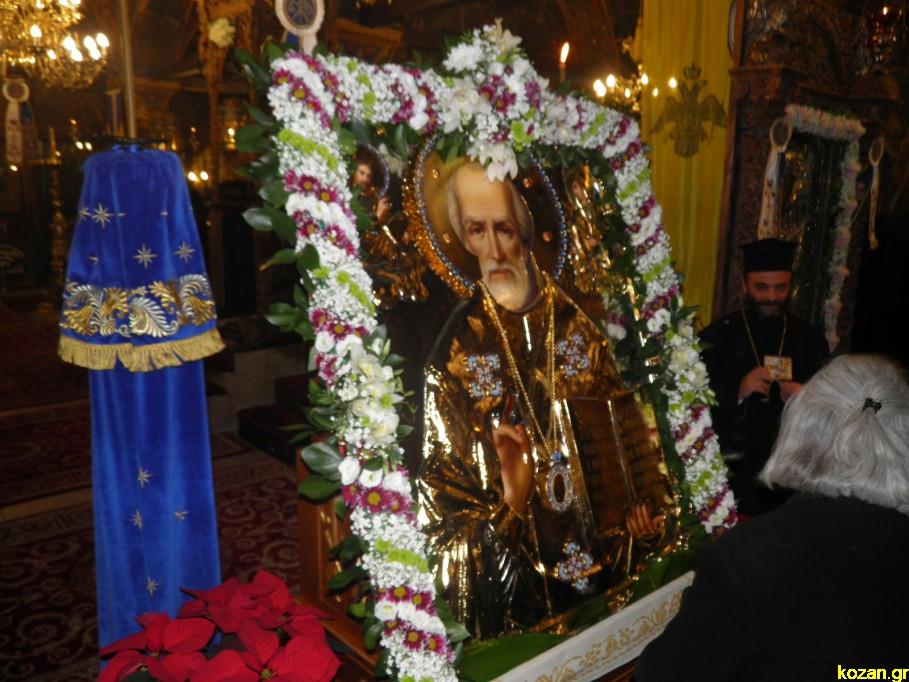 Η Κοζάνη υποδέχτηκε την εικόνα του Αγίου Νικολάου από τη Ρωσία - Φωτογραφία 2