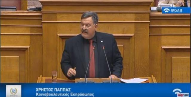 Χ. Παππάς: Χρυσή Αυγή σταθερή στην εθνική γραμμή - Κανένας συμβιβασμός για την Μακεδονία μας! [Βίντεο] - Φωτογραφία 1