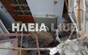Ηλεία Λέπρεο : Βράχοι διέλυσαν σπίτι - Η οικογένεια είχε φύγει πριν λίγες ημέρες - Φωτογραφία 5