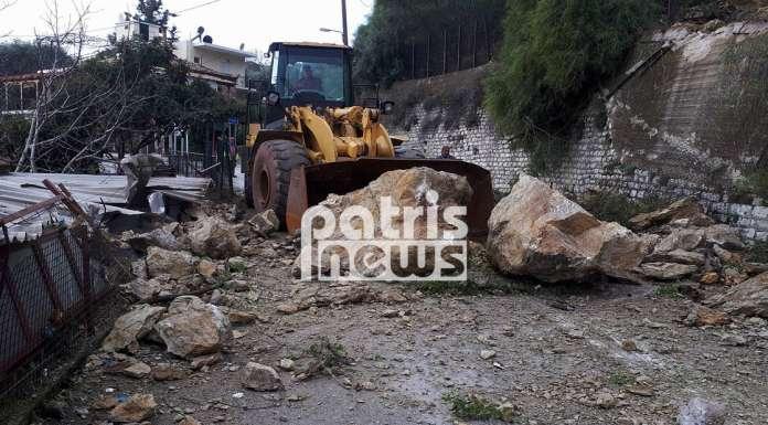 Ηλεία: Σοβαρές κατολισθήσεις από την κακοκαιρία στο Λέπρεο – Ολόκληροι βράχοι αποκολλήθηκαν και κατέστρεψαν σπίτι (ΦΩΤΟ) - Φωτογραφία 3