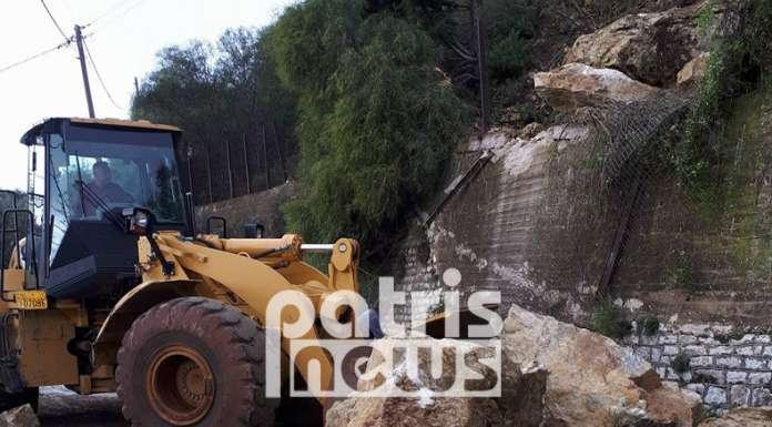 Ηλεία: Σοβαρές κατολισθήσεις από την κακοκαιρία στο Λέπρεο – Ολόκληροι βράχοι αποκολλήθηκαν και κατέστρεψαν σπίτι (ΦΩΤΟ) - Φωτογραφία 6