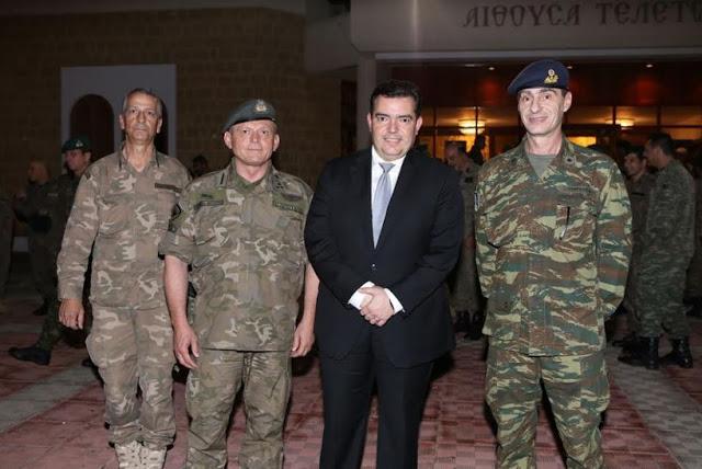 Συμμετοχή Εθνοφύλακα του ΤΕΘ Καλπακίου στην Εκδήλωση Κήρυξης του Έτους 2018 ως «Έτος Εφεδρείας και Εθνοφυλακής» του Γενικού Επιτελείου Εθνικής Φρουράς στην Κύπρο: - Φωτογραφία 1