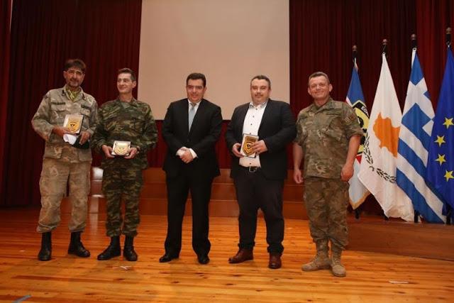 Συμμετοχή Εθνοφύλακα του ΤΕΘ Καλπακίου στην Εκδήλωση Κήρυξης του Έτους 2018 ως «Έτος Εφεδρείας και Εθνοφυλακής» του Γενικού Επιτελείου Εθνικής Φρουράς στην Κύπρο: - Φωτογραφία 3