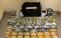Πάνω από 90 κιλά ναρκωτικών σε διαμέρισμα στη δυτική Θεσσαλονίκη