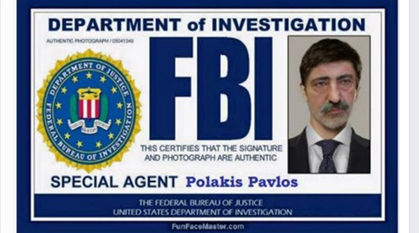 Ο Πολάκης ως... πράκτορας του FBI «παραληρεί» στο Facebook - Φωτογραφία 1