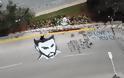 Παντελής Παντελίδης: Το graffiti με το πρόσωπό του στο σημείο που σκοτώθηκε