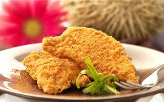 Φιλέτο κοτόπουλο πανέ φούρνου - Φωτογραφία 1