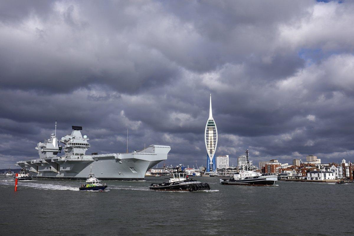 HMS Queen Elizabeth: Στην πρώτη του αποστολή το αεροπλανοφόρο της Μεγάλης Βρετανίας - Φωτογραφία 3