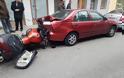 Αγρίνιο: Τροχαίο στην Εθνικής Αντιστάσεως – τον έσωσε το κράνος (φωτο)