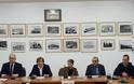 Επίσκεψη του Γενικού Γραμματέα Πολιτικής Προστασίας στον Άγιο Ευστράτιο