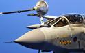 Δείτε πώς ανεφοδιάζονται τα πολεμικά αεροσκάφη εν ώρα πτήσης