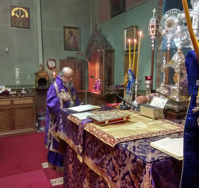 Γιορτάστηκε η μνήμη του τοπικού μας Αγίου Γεωργίου επισκόπου Αμάστριδος στη ΒΟΝΙΤΣΑ (ΦΩΤΟ) - Φωτογραφία 7