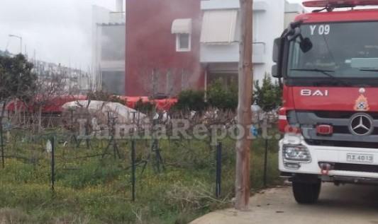 Λαμία: Συναγερμός για φωτιά σε υπόγειο σπιτιού - Φωτογραφία 1