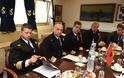 Η Υπαρχηγός της Αλβανικής Αστυνομίας στο Αρχηγείο Λ.Σ - Φωτογραφία 4