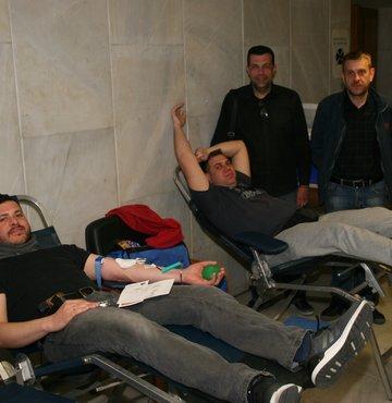 Ένωση Αθηνών: Δίνω αίμα και δείγμα μυελού των οστών, Σημαίνει δίνω ΖΩΗ - Φωτογραφία 11