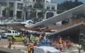 ΗΠΑ: Κατέρρευσε πεζογέφυρα στο Πανεπιστήμιο του Μαϊάμι - Φωτογραφία 3