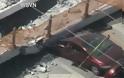 ΗΠΑ: Κατέρρευσε πεζογέφυρα στο Πανεπιστήμιο του Μαϊάμι - Φωτογραφία 4
