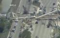 ΗΠΑ: Κατέρρευσε πεζογέφυρα στο Πανεπιστήμιο του Μαϊάμι - Φωτογραφία 5