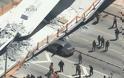 ΗΠΑ: Κατέρρευσε πεζογέφυρα στο Πανεπιστήμιο του Μαϊάμι - Φωτογραφία 6