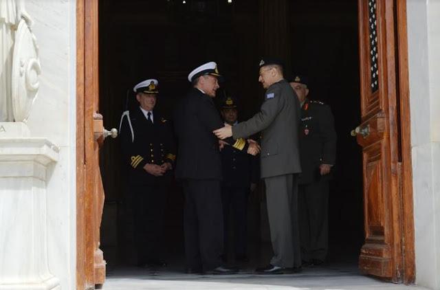 Ομιλία Αρχηγού ΓΕΣ στη Σχολή Εθνικής Άμυνας (ΣΕΘΑ) - Φωτογραφία 3