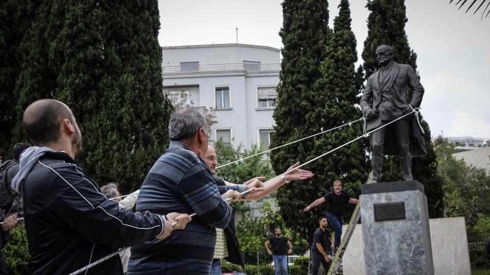 Άγαλμα Τρούμαν: Οι περιπέτειες του πιο «μισητού» αγάλματος της Αθήνας - Φωτογραφία 1