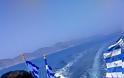 «Υψώσαμε τη σημαία στη βραχονησίδα Ανθρωποφάγος για τον ήρωα Γιώργο Μπαλταδώρο» [Βίντεο-Εικόνες] - Φωτογραφία 2