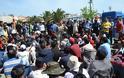 Μήνυση για την κατάληψη της πλατείας Σαπφούς στη Λέσβο από πρόσφυγες και μετανάστες κατέθεσε ο αντιδήμαρχος Καλλονής