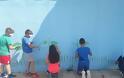 «Τα παιδιά ζωγραφίζουν στον τοίχο…» του Δημητρούκειου Δημοτικού σχολείου στο Βασιλόπουλο-Καραϊσκάκη - Φωτογραφία 8