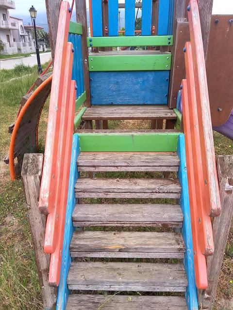 Θέματα ασφάλειας στην παιδική χαρά του οικισμού Παναγούλας στον ΜΥΤΙΚΑ (ΦΩΤΟ) - Φωτογραφία 6