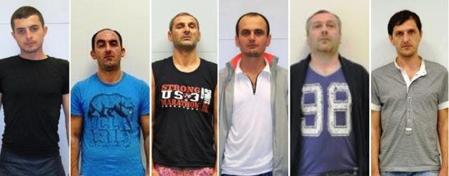 Αυτοί είναι οι 6 Γεωργιανοί που έκαιγαν με σίδερο τα θύματα τους και «άδειαζαν» σπίτια σε κάθε γωνιά της Αττικής (pics) - Φωτογραφία 1