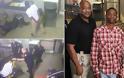 Καρέ- καρέ κρατούμενος με χειροπέδες σώζει τη ζωή αστυνομικού που έπαθε έμφραγμα... [video]