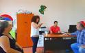 Περιοδεία του ΚΚΕ με επικεφαλής τον βουλευτή Νίκο Μωραΐτη, στο ειδικό σχολείο ΒΟΝΙΤΣΑΣ