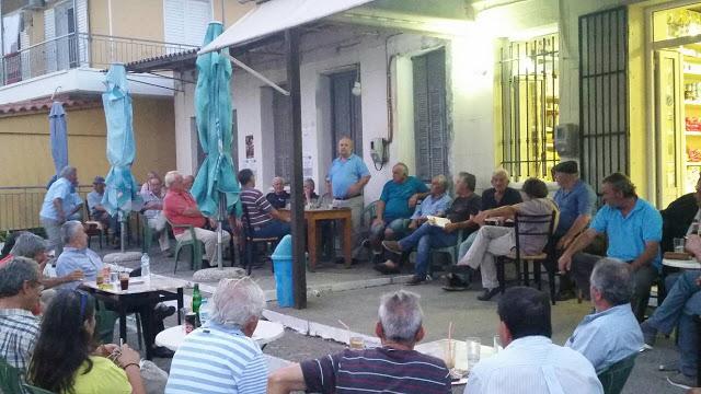 ΚΟ Φυτειών του ΚΚΕ: Πραγματοποιήθηκε η Περιοδεία στις Φυτείες και η Συγκέντρωση στη Παπαδάτου Ξηρομέρου, όπου μίλησε ο Νίκος Μωραΐτης, βουλευτής ΚΚΕ - Φωτογραφία 1